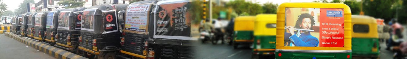 Auto Rickshaw Advertising Agency Mumbai
