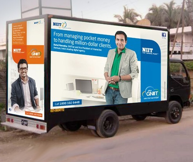 Canter Activity / Mobile Van Advertising
